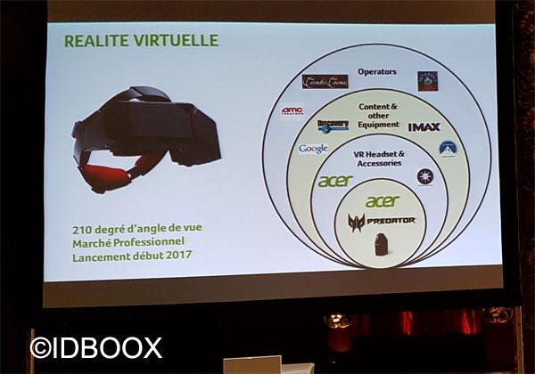 Acer casque de réalité virtuelle Star VR