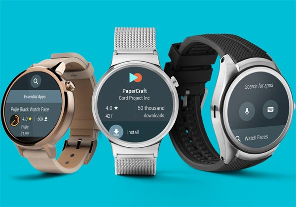 Android Wear 2.0 pas avant 2017