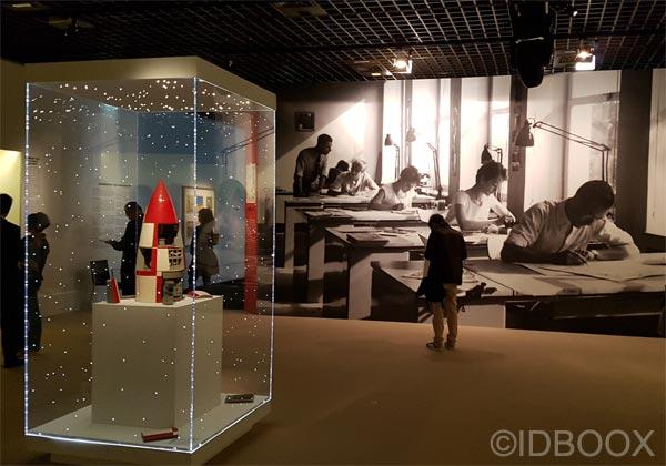 Visite de l'expo Hergé RMN Grand Palais