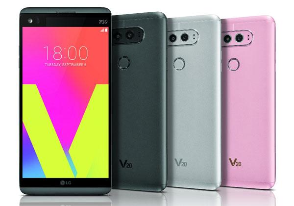 LG V30 en Europe fin septembre
