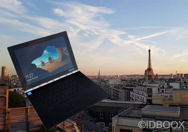 Lenovo Yoga Book prise en main en vidéo