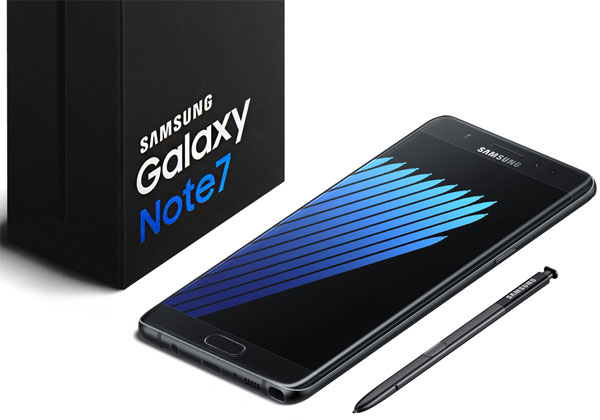 Galaxy Note 7 de retour en France le 28 ocotbre