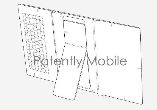 Samsung un brevet pour une tablette avec un écran pliable