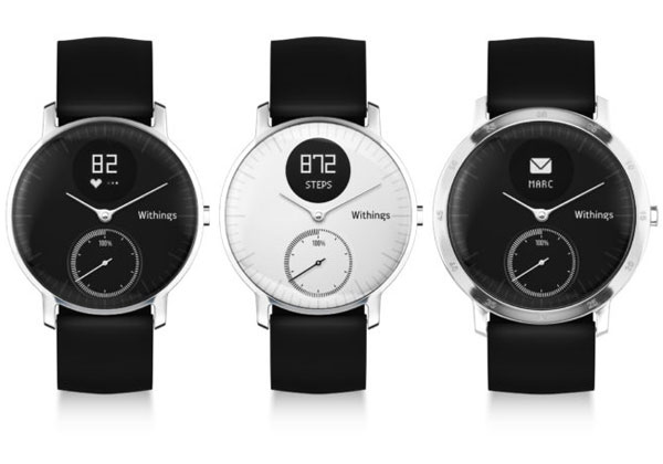 Withings Steel HR : la montre connectée se dote d'un petit écran