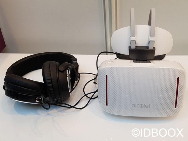 Casque VR Alcatel Vision prise en main