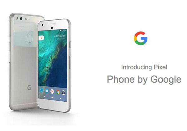 Google Pixel images et caractéristiques officielles