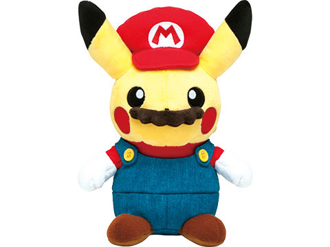 Mario Pikachu un Pikachu à moustache