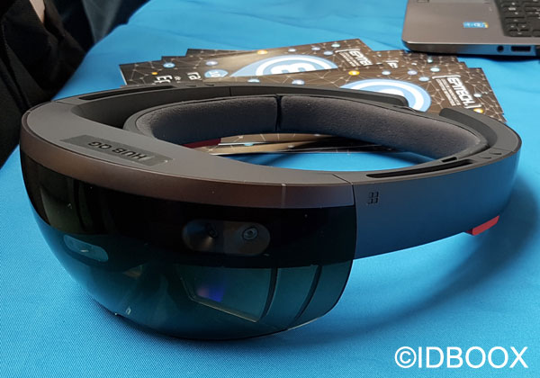 Microsoft HoloLens prise en main