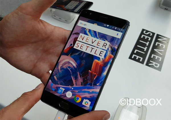 OnePlus 3 officialisé pour le 15 novembre