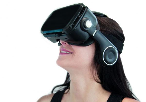 Orange VR1 casque de réalité virtuelle