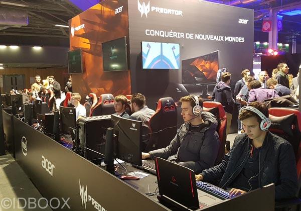 jeux vidéo paris games week 2017