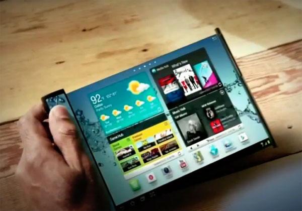 Samsung smartphone écran flexible en 2017
