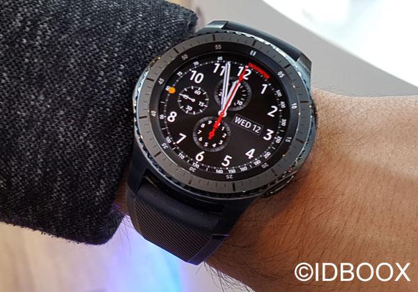 Samsung Gear S3 prise en main
