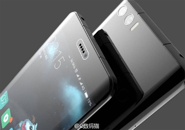 Xiaomi Mi Note 2 les caractéristiques avant la présentation