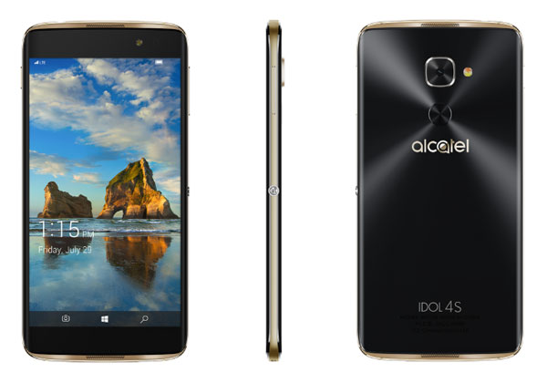 Alcatel Idol 4S avec Windows 10 mobile