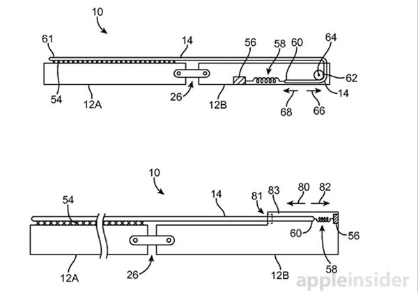 Apple brevet smartphone avec écran pliable