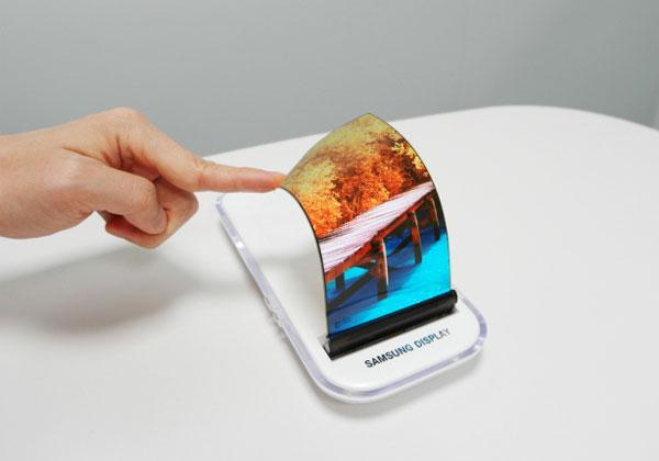 Samsung Galaxy S8 avec un écran full OLED sans bord