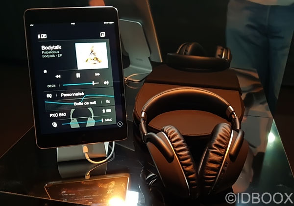 Casque audio Sennheiser PXC 550 Wireless prise en main