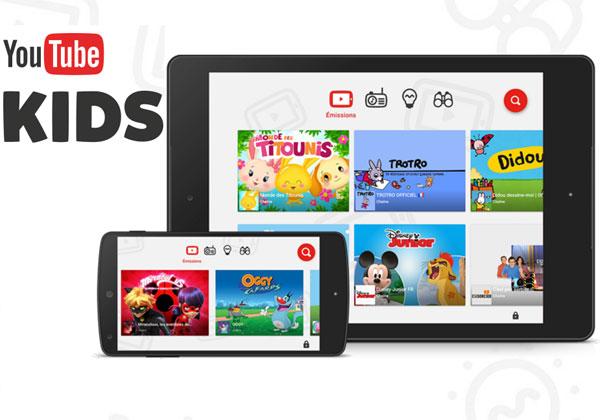 Youtube Kids une app pour filtrer les vidéos pour les enfants
