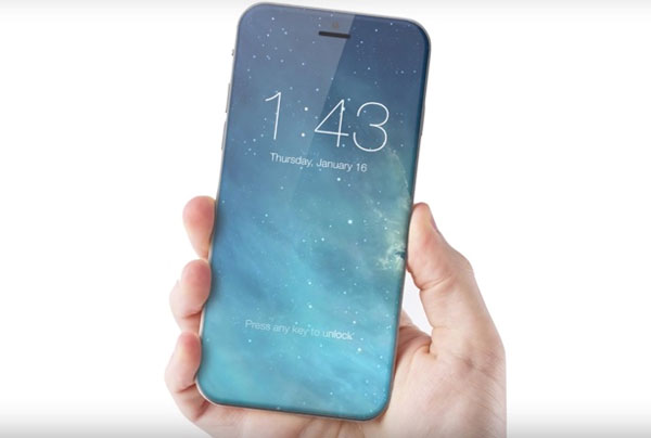 iPhone 8 Apple commande 70 millions écrans OLED