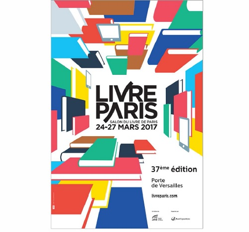 La belle affiche du salon livre paris 2017 idboox for Salon du livre 2017