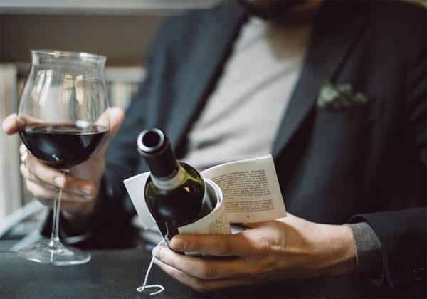 LE mariage du vin et de la littérature