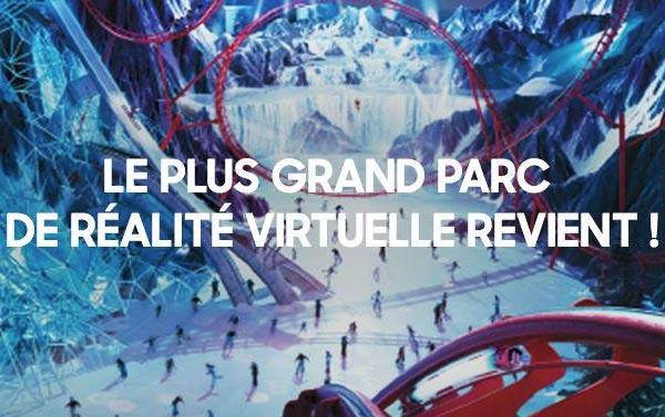 Samsung installe son parc de réalité virtuelle au Grand Palais