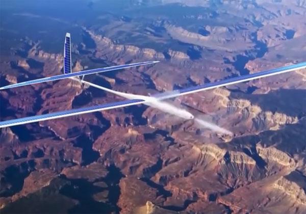 Google stoppe le drones solaires Titan