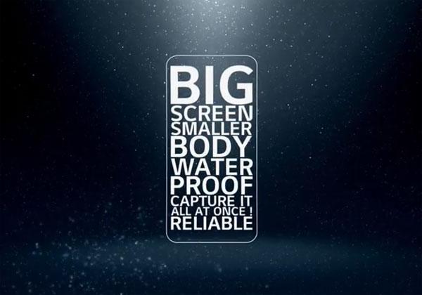 LG G6 avec un écran sans bords