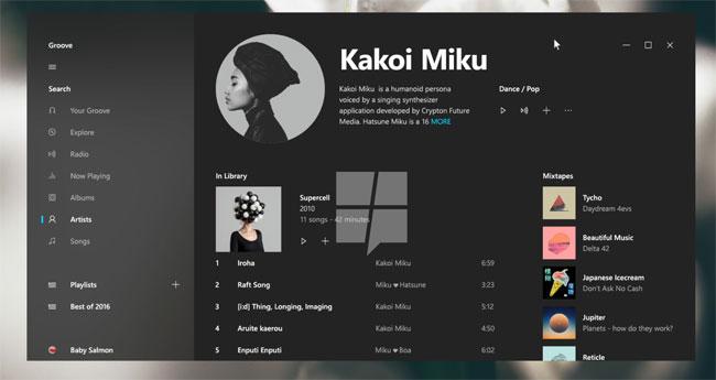 Projet Neon la nouvelle interface Windows 10