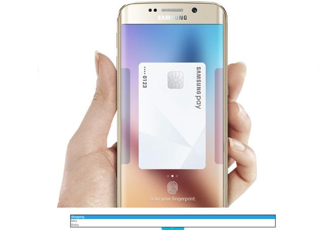 Samsung confirme Bixy et Pay Mini pour le Galaxy S8