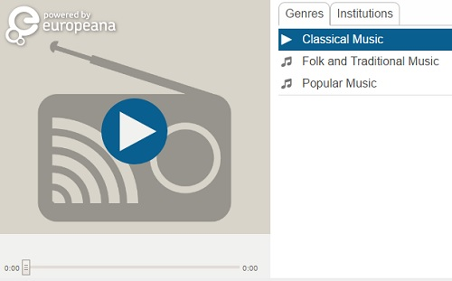 europeana radio culture