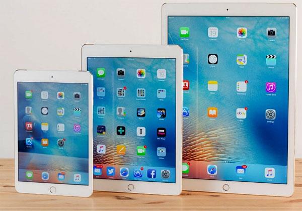 iPad 2017 pas avant deuxième semestre