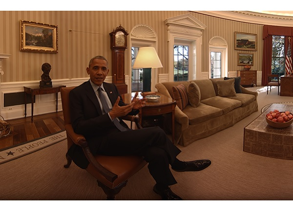obama realite virtuelle maison blanche