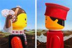 Des chefs d'œuvres de la peinture avec des Lego