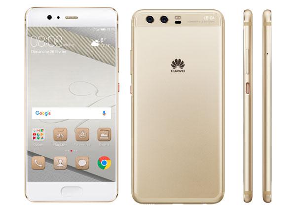 Huawei P11 avec encoche de l'iPhone X