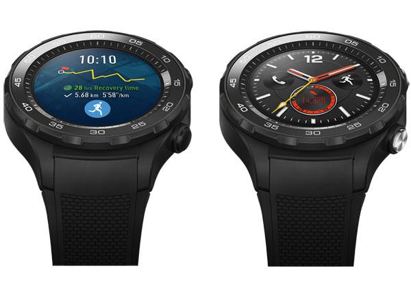 Huawei Watch 2 autonome et connexion 4G