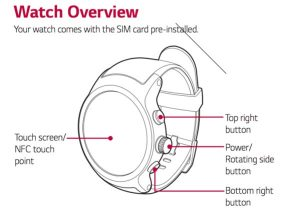 LG Watch Sport et Watch Style guide d'utilisation
