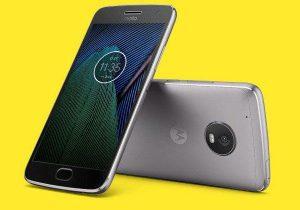 Moto G5 le plein de nouvelles photos