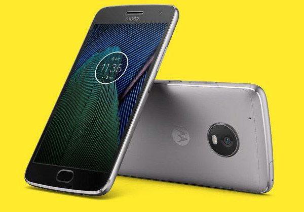 Moto G5 et Moto G5 Plus les photos