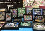Des tableaux 3D avec vieux jeux vidéo