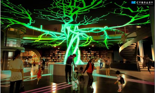 cybrary bibliotheque du futur
