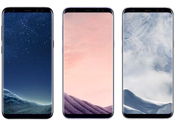 Galaxy S8 prix et nouvelles couleurs
