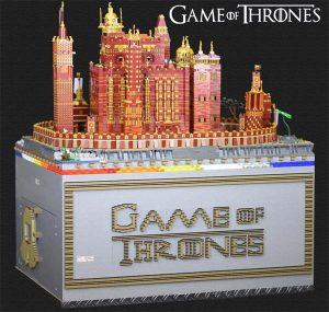 Game of Thrones le donjon rouge en Lego