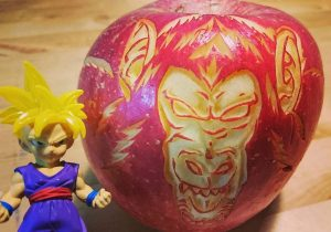 Japon sculptures fruits et légumes