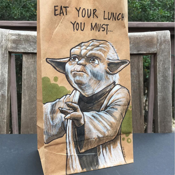 Lunch Bag Pop Culture
