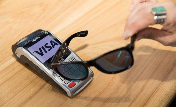 Visa Lunettes de soleil NFC