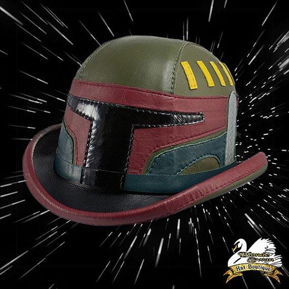 Cosplay chapeau melon Boba Fett