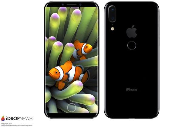 iPhone 8 Apple commande 70 millions écrans OLED