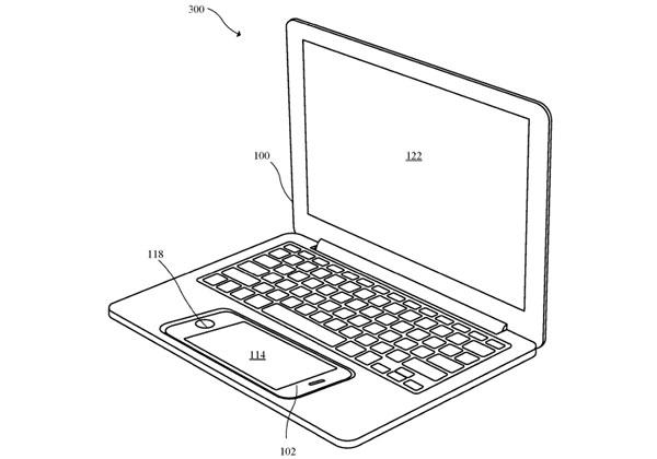 Apple brevet iPhone transformé en portable